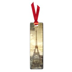 Elegant Vintage Paris Eiffel Tower Art Small Bookmark