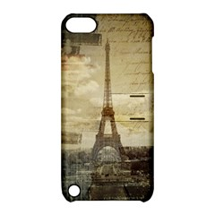 Elegant Vintage Paris Eiffel Tower Art Apple Ipod Touch 5 Hardshell Case With Stand by chicelegantboutique