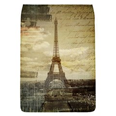 Elegant Vintage Paris Eiffel Tower Art Removable Flap Cover (small) by chicelegantboutique