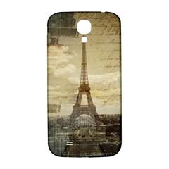 Elegant Vintage Paris Eiffel Tower Art Samsung Galaxy S4 I9500/i9505  Hardshell Back Case by chicelegantboutique