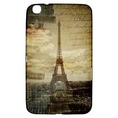 Elegant Vintage Paris Eiffel Tower Art Samsung Galaxy Tab 3 (8 ) T3100 Hardshell Case  by chicelegantboutique