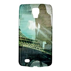 Modern Shopaholic Girl  Paris Eiffel Tower Art  Samsung Galaxy S4 Active (i9295) Hardshell Case by chicelegantboutique