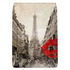 Elegant Red Kiss Love Paris Eiffel Tower Removable Flap Cover (small) by chicelegantboutique