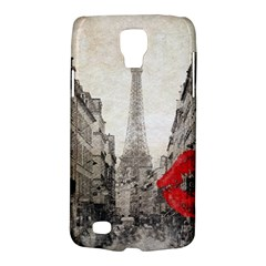 Elegant Red Kiss Love Paris Eiffel Tower Samsung Galaxy S4 Active (i9295) Hardshell Case by chicelegantboutique