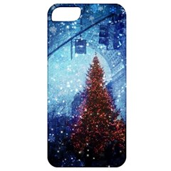 Elegant Winter Snow Flakes Gate Of Victory Paris France Apple Iphone 5 Classic Hardshell Case by chicelegantboutique
