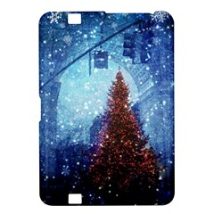 Elegant Winter Snow Flakes Gate Of Victory Paris France Kindle Fire Hd 8 9  Hardshell Case by chicelegantboutique
