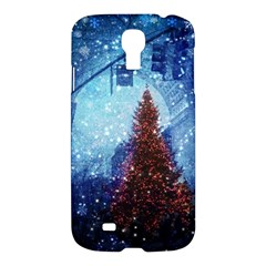 Elegant Winter Snow Flakes Gate Of Victory Paris France Samsung Galaxy S4 I9500/i9505 Hardshell Case by chicelegantboutique