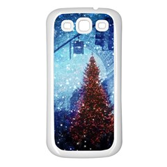 Elegant Winter Snow Flakes Gate Of Victory Paris France Samsung Galaxy S3 Back Case (white) by chicelegantboutique