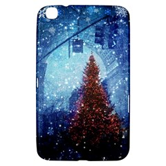 Elegant Winter Snow Flakes Gate Of Victory Paris France Samsung Galaxy Tab 3 (8 ) T3100 Hardshell Case  by chicelegantboutique