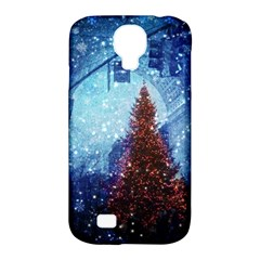 Elegant Winter Snow Flakes Gate Of Victory Paris France Samsung Galaxy S4 Classic Hardshell Case (pc+silicone) by chicelegantboutique