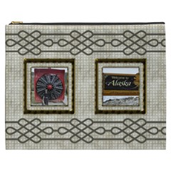 Choc Cosmetic Bag (xxxl) By Deborah   Cosmetic Bag (xxxl)   Plq5on194s5v   Www Artscow Com Front