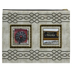 Choc Cosmetic Bag (xxxl) By Deborah   Cosmetic Bag (xxxl)   Plq5on194s5v   Www Artscow Com Back
