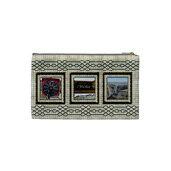 Choc Cosmetic Bag  (small) By Deborah   Cosmetic Bag (small)   S9b8zqs2xwkt   Www Artscow Com Back