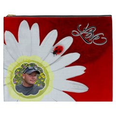 Love Xxxl Cosmetic Bag By Joy Johns   Cosmetic Bag (xxxl)   Twsjtyuegi4z   Www Artscow Com Front
