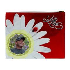 Love Xl Cosmetic Bag By Joy Johns   Cosmetic Bag (xl)   Lvx17w6yrbfm   Www Artscow Com Back