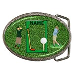 Golfer s Belt Buckle 3