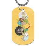At the Park FAMILY 1 sided Dog tag 1 - Dog Tag (One Side)