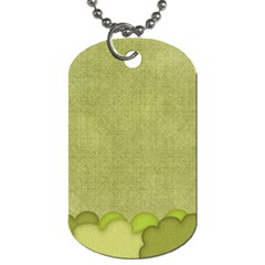 At The Park 2 Sided Dog Tag 2 By Lisa Minor   Dog Tag (two Sides)   8nj31v45hcsw   Www Artscow Com Back