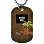 Prehistoric 1 sided Dog Tag 1 - Dog Tag (One Side)