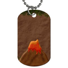 Prehistoric 2 Sided Dog Tag 1 By Lisa Minor   Dog Tag (two Sides)   Q7bve3ohgmkp   Www Artscow Com Back