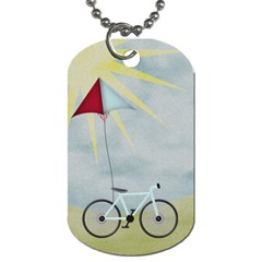 At The Park 2 Sided Dog Tag 1 By Lisa Minor   Dog Tag (two Sides)   C8nz8j5ztykr   Www Artscow Com Back