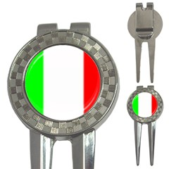 ITALY FLAG  3-in-1 Golf Divot by Brenco