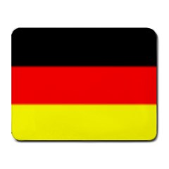 GERMANY FLAG  Small Mousepad by Brenco
