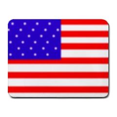usa flag Small Mousepad by Brenco