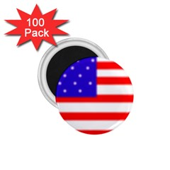 usa flag 1.75  Magnet (100 pack)  by Brenco