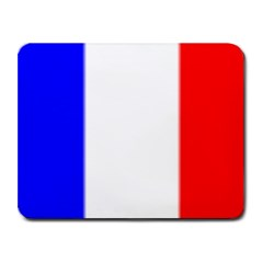 france flag Small Mousepad by Brenco
