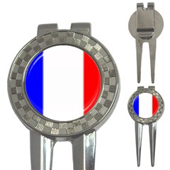 france flag 3-in-1 Golf Divot by Brenco