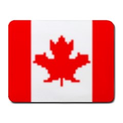 canada flag Small Mousepad by Brenco