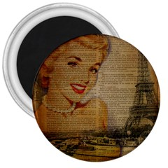 Yellow Dress Blonde Beauty   3  Button Magnet by chicelegantboutique