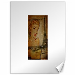 Yellow Dress Blonde Beauty   Canvas 36  X 48  (unframed) by chicelegantboutique