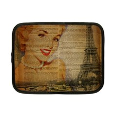 Yellow Dress Blonde Beauty   Netbook Case (small) by chicelegantboutique