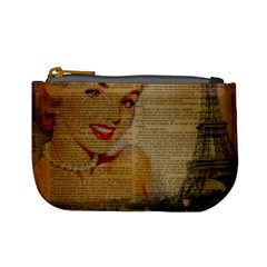 Yellow Dress Blonde Beauty   Coin Change Purse by chicelegantboutique