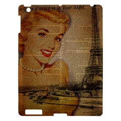 Yellow Dress Blonde Beauty   Apple Ipad 3/4 Hardshell Case by chicelegantboutique