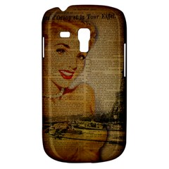 Yellow Dress Blonde Beauty   Samsung Galaxy S3 Mini I8190 Hardshell Case by chicelegantboutique