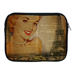Yellow Dress Blonde Beauty   Apple Ipad 2/3/4 Zipper Case by chicelegantboutique