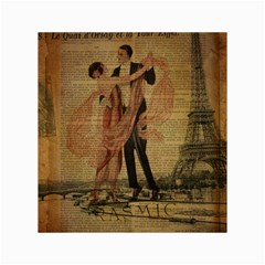 Vintage Paris Eiffel Tower Elegant Dancing Waltz Dance Couple  Canvas 18  X 24  (unframed) by chicelegantboutique