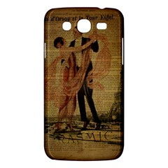 Vintage Paris Eiffel Tower Elegant Dancing Waltz Dance Couple  Samsung Galaxy Mega 5 8 I9152 Hardshell Case  by chicelegantboutique