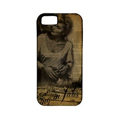 Romantic Kissing Couple Love Vintage Paris Eiffel Tower Apple Iphone 5 Classic Hardshell Case (pc+silicone) by chicelegantboutique