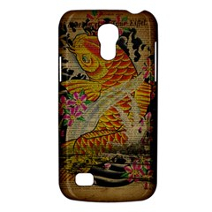 Funky Japanese Tattoo Koi Fish Graphic Art Samsung Galaxy S4 Mini Hardshell Case  by chicelegantboutique