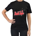 Redd Tape Womens' T-shirt (Black) Front