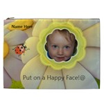 Happy Face XXL cosmetic bag - Cosmetic Bag (XXL)