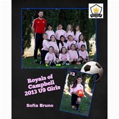 Royals U9 Girls 2013 By Arti Steinkamp   Collage 8  X 10    Aq23lcsr0lwz   Www Artscow Com 10 x8 Print - 8