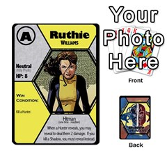 Queen Shadow Hunters   Xmen Cards By Ajax   Playing Cards 54 Designs   Tm8lw3jo5nux   Www Artscow Com Front - SpadeQ