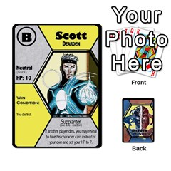 Ace Shadow Hunters   Xmen Cards By Ajax   Playing Cards 54 Designs   Tm8lw3jo5nux   Www Artscow Com Front - SpadeA