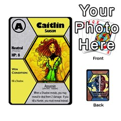 King Shadow Hunters   Xmen Cards By Ajax   Playing Cards 54 Designs   Tm8lw3jo5nux   Www Artscow Com Front - DiamondK