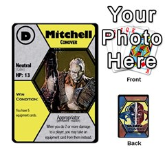 Shadow Hunters   Xmen Cards By Ajax   Playing Cards 54 Designs   Tm8lw3jo5nux   Www Artscow Com Front - Club8